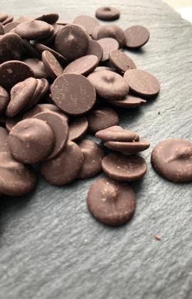 Brūnās šokolādes diski 150g